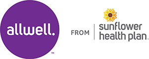 allwell from Sunflower Health Plan logo